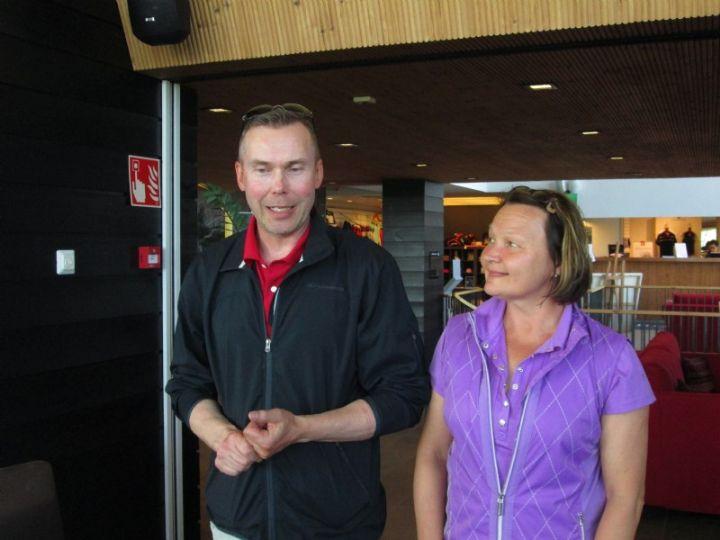 Kilpailun voitti hirsalalaispari Maiju ja Taneli Vuorinen. (Kuva: Rauni Suhonen)