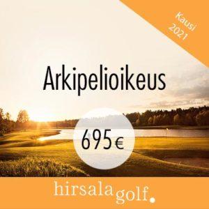 Arkipelioikeus 695€