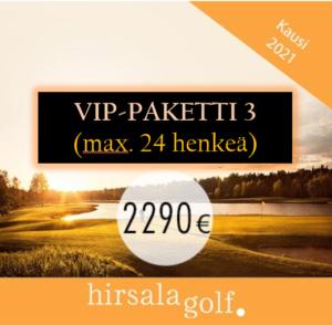 VIP-paketti 3